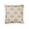 "L252 Beige Flames Pillow 18"" x 18"" Size Pillows"
