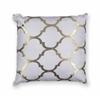 "KAS Rugs L298 Ivory Trellis Pillow 18"" x 18"" Size Pillows"