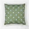 "KAS Rugs L106 Teal/Gold Gramercy Pillow 18"" x 18"" Size Pillows"