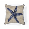 "KAS Rugs L109 Starfish Elegance Pillow 18"" x 18"" Size Pillows"
