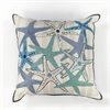 "KAS Rugs L110 Starfish Gala Pillow 18"" x 18"" Size Pillows"