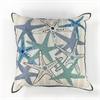 "L110 Starfish Gala Pillow 18"" x 18"" Size Pillows"