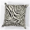 "L119 Zebra Oasis Pillow 18"" x 18"" Size Pillows"