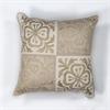 "KAS Rugs L131 Beige Damask Pillow 18"" x 18"" Size Pillows"