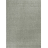 "Porto 1224 Grey Heather Herringbone 6'6"" x 9'6"" Size Area Rug"