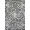 "Provence 8602 Silver / Blue Palazzo 2'2""X 6'11"" Runner Size Area Rug"
