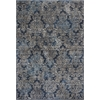 "KAS Rugs Provence 8611 Slate Blue Damask 2'2""X 6'11"" Runner Size Area Rug"