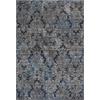"Provence 8611 Slate Blue Damask 2'2""X 6'11"" Runner Size Area Rug"