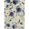 "Reflections 7415 Blue Watercolors 2'7"" x 4'11"" Size Area Rug"