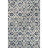 "Reflections 7425 Ivory/Blue Kashia 6'7"" x 9'6"" Size Area Rug"