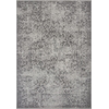 "KAS Rugs Reflections 7427 Grey Vintage 6'7"" x 9'6"" Size Area Rug"