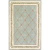 "Ruby 8907 Sage/Ivory Trellis 2'3"" x 7'6"" Runner Size Area Rug"