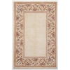 "KAS Rugs Ruby 8928 Ivory/Ivory Floral Border 3'3"" x 5'3"" Size Area Rug"