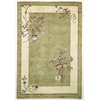 "Ruby 8937 Sage Bouquet 5'3"" x 8' Size Area Rug"