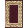 "KAS Rugs Ruby 8979 Ruby Floral Border 3'3"" x 5'3"" Size Area Rug"