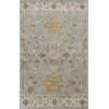 "Samara 3601 Slate Grey Marrakesh 3'3"" x 5'3"" Size Area Rug"