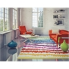 "KAS Rugs Shelby 6305 Rainbow Soundwaves 3'3"" x 5'3"" Size Area Rug"