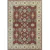 "Shiraz 5007 Red/Ivory Mahal 5'3"" x 7'7"" Size Area Rug"