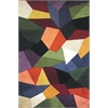 "Signature 9086 Multi Prisms 5'3"" x 8'3"" Size Area Rug"