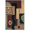 "Signature 9088 Jewel Tone Multishapes 2'6"" x 8' Runner Size Area Rug"
