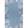 "Sonesta 2024 Sea Blue Coastal 7'6"" x 9'6"" Size Area Rug"