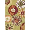 "KAS Rugs Sonesta 2026 Pictachio Floral Splash 27"" X 45"" Size Area Rug"