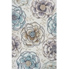 "KAS Rugs Sonesta 2041 Ivory/Beige Floral Vines 3'3"" x 5'3"" Size Area Rug"