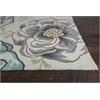"""Sonesta 2041 Ivory/Beige Floral Vines 7'6"""" Round Size Area Rug"""