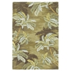 "Sparta 3102 Moss Palm Trees 3'6"" x 5'6"" Size Area Rug"