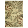 "KAS Rugs Sparta 3124 Ivory Ferns 7'9"" x 9'6"" Size Area Rug"