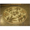 "KAS Rugs Sparta 3133 Ivory Tropical Oasis 5'6"" Round Size Area Rug"