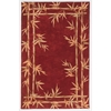 "Sparta 3145 Red Bamboo Double Border 2'6"" x 10' Runner Size Area Rug"