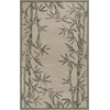 "Sparta 3146 Ivory Bamboo Border 2'6"" x 10' Runner Size Area Rug"