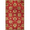 KAS Rugs Syriana 6003 Red Allover Kashan 5' x 8' Size Area Rug