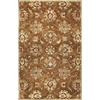 "Syriana 6004 Coffee Allover Kashan 2'3"" x 7'6"" Runner Size Area Rug"