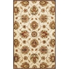 "Syriana 6005 Ivory Allover Kashan 8' x 10'6"" Size Area Rug"