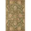 KAS Rugs Syriana 6010 Emerald Green Agra 5' x 8' Size Area Rug