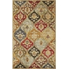 "Syriana 6019 Jeweltone Panel 3'3"" x 5'3"" Size Area Rug"