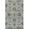 Syriana 6029 Blue Allover Kashia 5' x 8' Size Area Rug