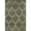 "KAS Rugs Versailles 8501 Blue/Green Trellis 5'3"" x 7'7"" Size Area Rug"