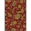 "Versailles 8553 Red Aegean Scroll 5'3"" x 7'7"" Size Area Rug"