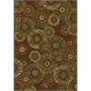 "KAS Rugs Versailles 8558 Mocha Suzani 5'3"" x 7'7"" Size Area Rug"