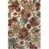 "Versailles 8577 Ivory Gardenia 5'3"" x 7'7"" Size Area Rug"