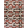 "Vista 5800 Rust Illusions 5'3"" x 7'7"" Size Area Rug"