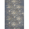 "Zarepath 7504 Denim Bordeaux 5'3"" x 7'8"" Size Area Rug"