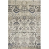 "KAS Rugs Zarepath 7513 Ivory Elements 2'2"" x 7'11"" Runner Size Area Rug"