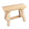 Rustic Cedar 2' Straight Bench - 2016 Design - (1 / Box)
