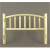 Rustic Cedar QUEEN, ARCHED HEADBOARD ONLY