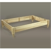 Rustic Cedar PLANTER, 4' X 6' RAISED BED