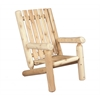 "Rustic Cedar CHAIR, 28"" BACK"